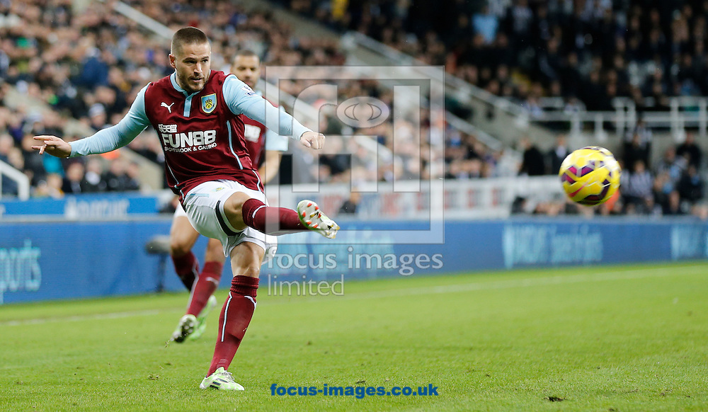 Michael Kightly of Burnley during the Barclays Premier League match at St. James's Park, Newcastle<br /> Picture by Simon Moore/Focus Images Ltd 07807 671782<br /> 01/01/2015