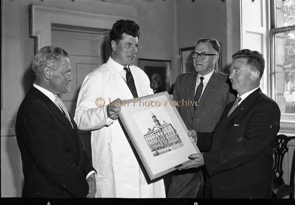 Park Davis Presentation to Rotunda 26th, may, 1961,