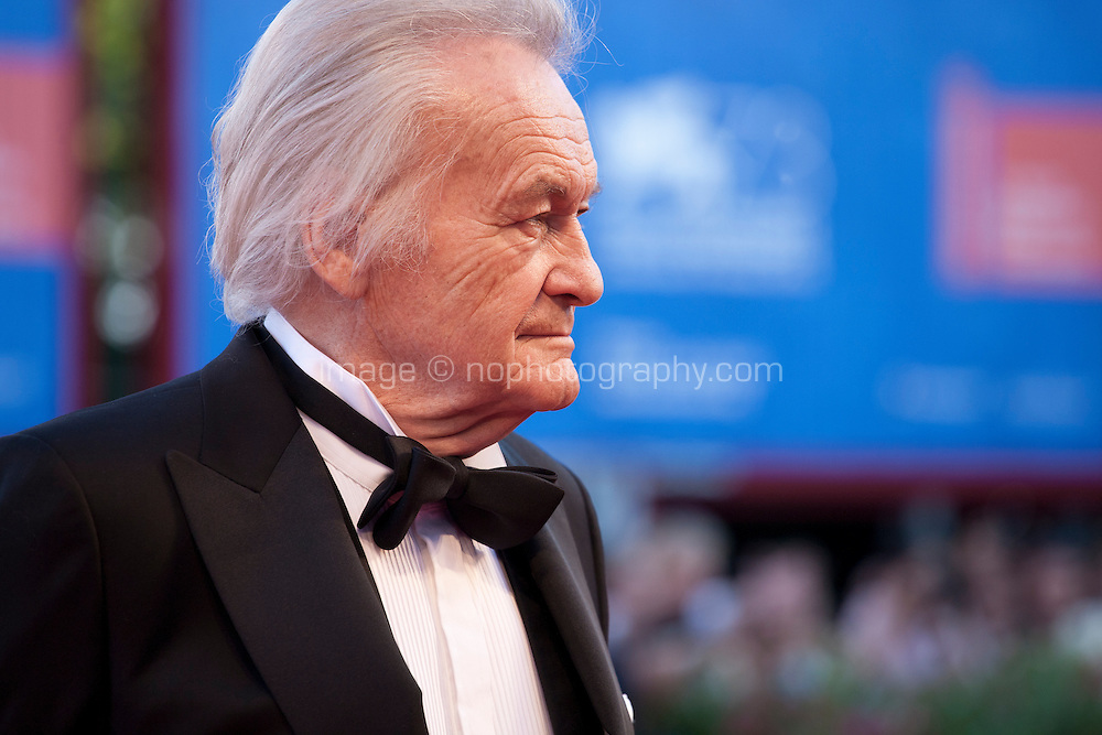 Jerzy Skolimowski at the opening ceremony and premiere of the film La La Land at the 73rd Venice Film Festival, Sala Grande on Wednesday August 31st, 2016, Venice Lido, Italy.