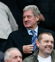 Photo: Steve Bond.<br /> Leicester City v Barnsley. Coca Cola Championship. 27/10/2007. Milan Mandaric takes his seat