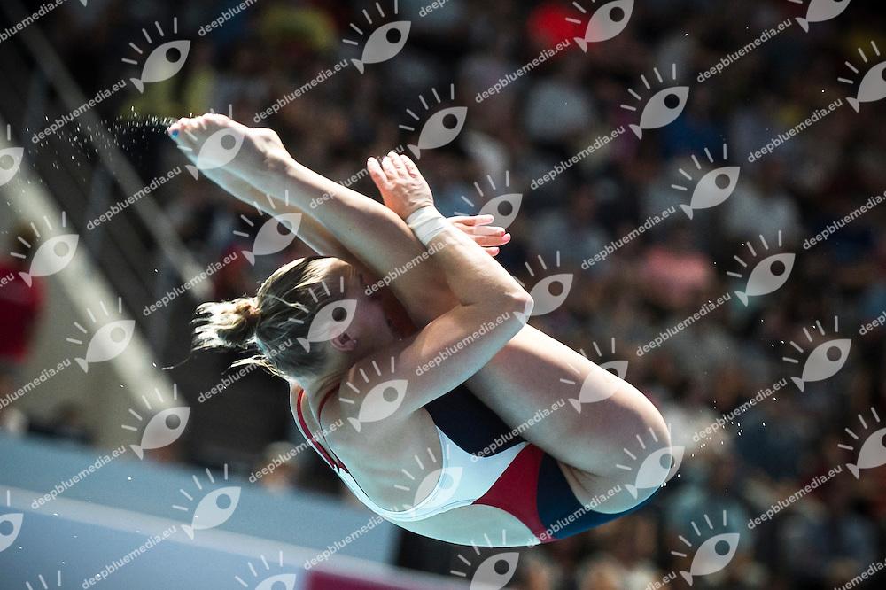 PICKENS Samantha USA<br /> Diving - Women's 1m springboard preliminaries<br /> Day 03 26/07/2015<br /> XVI FINA World Championships Aquatics Swimming<br /> Kazan Tatarstan RUS July 24 - Aug. 9 2015 <br /> Photo Giorgio Perottino/Deepbluemedia/Insidefoto