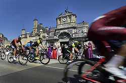 July 14, 2018 - Amiens Metropole, FRANCE - Illustration picture shows the peloton passing The Anet Castle during the eighth stage of the 105th edition of the Tour de France cycling race, from Dreux to Amiens Metropole (181 km), in France, Saturday 14 July 2018. This year's Tour de France takes place from July 7th to July 29th. BELGA PHOTO YORICK JANSENS (Credit Image: © Yorick Jansens/Belga via ZUMA Press)