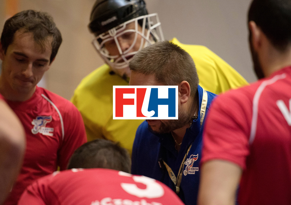 BERLIN - Indoor Hockey World Cup<br /> Czech Republic - Trinidad &amp; Tobago<br /> foto: TRONIČEK Petr<br /> WORLDSPORTPICS COPYRIGHT FRANK UIJLENBROEK