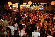 Crowds on the Terrace dancefloor, Space Club, Ibiza 2006