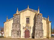 Doorway of Church Igreja Matriz de Nossa Senhora da Assunçãoin, village of Alvito, Beja District, Baixo Alentejo, Portugal, southern Europe