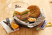 Ham&SwissonChallahDeluxe