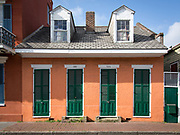 924 - 926 Ursulines Street in the French Quarter of New Orleans, Louisiana