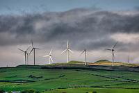 Windfarm near Ardrossan Scotland
