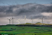 Windfarm near Ardrossan Scotland