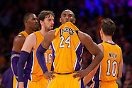 Lakers vs Mavericks 10-30-12