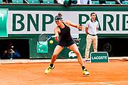 Garbine Muguruza (esp) during the Roland Garros French Tennis Open 2018, day 11, on June 6, 2018, at the Roland Garros Stadium in Paris, France - Photo Pierre Charlier / ProSportsImages / DPPI