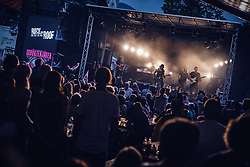 27.06.2019, Schladming, AUT, Rock the Roof 2019, im Bild Schürzenjäger Konzert // Schuerzenjaeger Concert during the Rock the Roof Biker Meeting in Schladming, Austria on 2019/06/27. EXPA Pictures © 2019, PhotoCredit: EXPA/ JFK