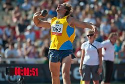 DOROSHENKO Oleksandr, UKR, Shot Put, F38, 2013 IPC Athletics World Championships, Lyon, France