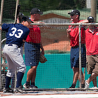 Baseball - MLB Academy - Tirrenia (Italy) - 19/08/2009 - Shawn Larry (Germany)