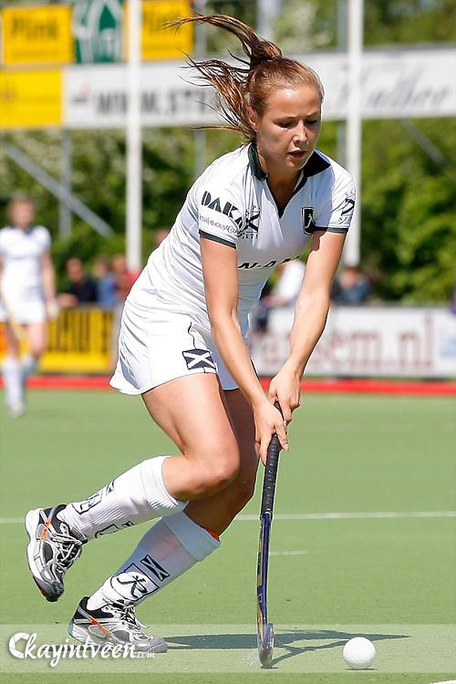 DEN HAAG - HDM - Rotterdam, Hoofdklasse hockey dames, seizoen 2010-2011, 01-05-2011, Lisa van Baaren