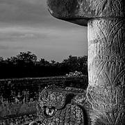 Mayan Ruins in Chichen Itza, Yucatan.