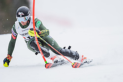 01.03.2020, Hannes Trinkl Weltcupstrecke, Hinterstoder, AUT, FIS Weltcup Ski Alpin, Alpine Kombination, Herren, Slalom, im Bild Ryan Cochran-Siegle (USA) // Ryan Cochran-Siegle of the USA in action during his Slalom run of men's Alpine combined of FIS ski alpine world cup at the Hannes Trinkl Weltcupstrecke in Hinterstoder, Austria on 2020/03/01. EXPA Pictures © 2020, PhotoCredit: EXPA/ Johann Groder