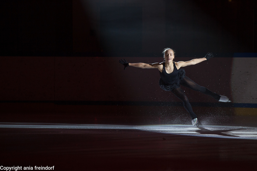 International Ice Skating Gala, Courchevel, France, 20 July 2017, Anastasia Gubanova, Member of National Team, Russia, 2 gold medals Grand Prix ISU Junior 2016 and 2017, Silver Medal Grand Prix ISU Junior,