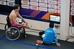 Mixed zone  at 2015 IPC Swimming World Championships -