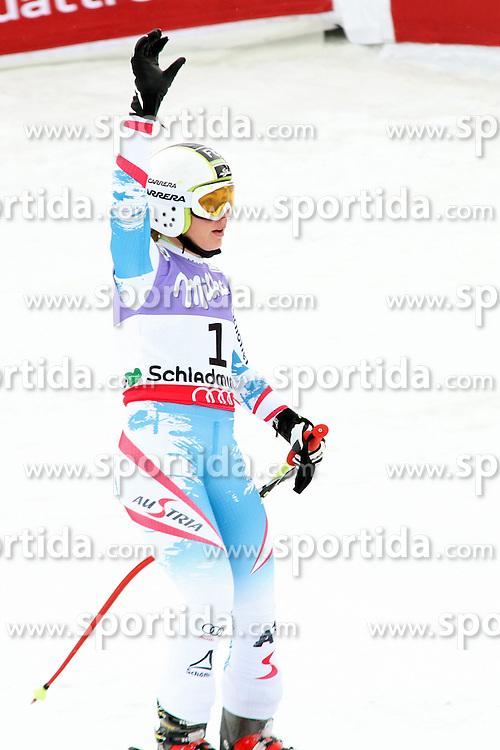 05.02.2013, Planai, Schladming, AUT, FIS Weltmeisterschaften Ski Alpin, Super G, Damen, im Bild Nicole Schmidhofer (AUT) // Nicole Schmidhofer of Austria during Super-G Ladies at the FIS Ski World Championships 2013 at the Planai Course, Schladming, Austria on 2013/02/05. EXPA Pictures © 2013, PhotoCredit: EXPA/ Martin Huber