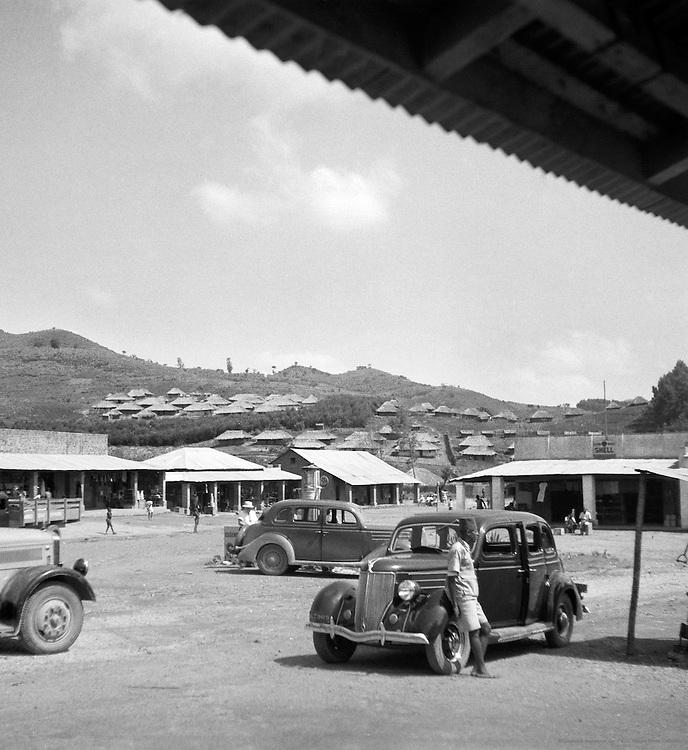 Street Scene, Lubero, Belgian Congo (now Democratic Republic of the Congo), Africa, 1937