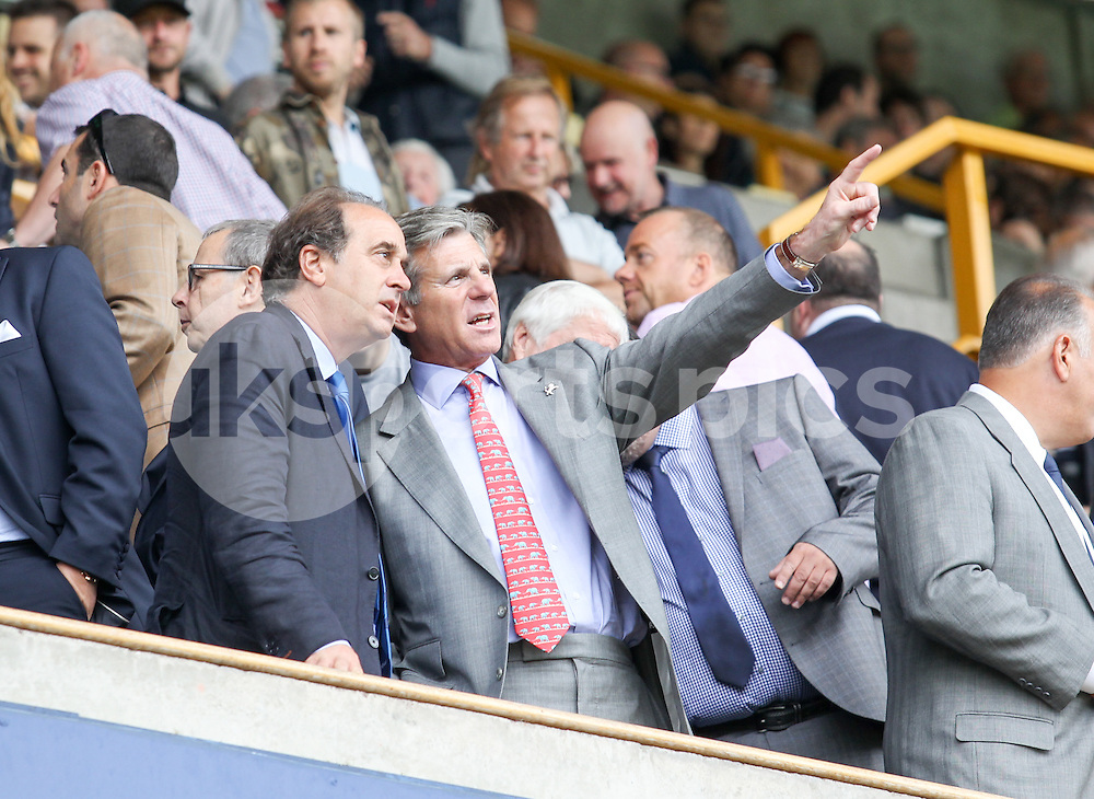 Millwall chairman John Berylson before the Sky Bet League 1 match between Millwall and Coventry City at The Den, London, England on 15 August 2015. Photo by Edmund  Boyden.