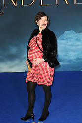 © Licensed to London News Pictures. 19/03/2015, UK. Camilla Rutherford, Cinderella - UK film premiere, Leicester Square, London UK, 19 March 2015. Photo credit : Richard Goldschmidt/Piqtured/LNP