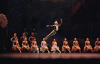 Carlos Acosta as Solor in Natalia Makarova's La Bayadere, Royal Ballet 2002
