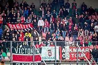 NIJMEGEN- 07-05-2017, NEC - AZ,  Stadion De Goffert, 2-1, supporters AZ , uitvak