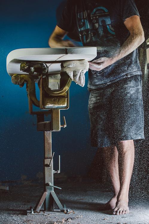 Eli Mirandon, surfboard shaper | Drift Surfing