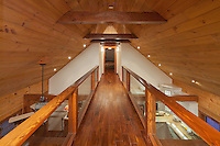 Timber Mezzanine walkway