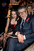 JULIA TUCK; JACK VETTRIANO;, Annual Lighthouse Gala Auction in aid of the Terrence Higgins Trust.  Christie's, King St. London. 21 March 2011. .-DO NOT ARCHIVE-© Copyright Photograph by Dafydd Jones. 248 Clapham Rd. London SW9 0PZ. Tel 0207 820 0771. www.dafjones.com.