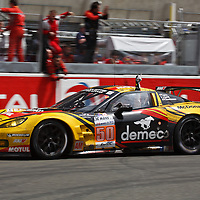 #50 Chevy Corvette C6 ZR1, GTE Am, Winner in their class at the Le Mans 24H, 2012