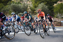 Elise Chabbey (SUI) and Riejanne Markus (NED) at Setmana Ciclista Valenciana 2019 - Stage 4, a 104 km road race from Valencia to Sagunt, Spain on February 24, 2019. Photo by Sean Robinson/velofocus.com