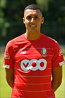 LIEGE, BELGIUM - JULY 10:  <br /> Selim Amallah of Standard during the 2019 - 2020 season photo shoot of Standard de Liege on July 10, 2019 in Liege, Belgium. (Photo by Johan Eyckens/Isosport)