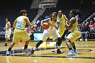 """Ole Miss guard A'Queen Hayes (3) vs. Southern at the C.M. """"Tad"""" Smith Coliseum in Oxford, Miss. on Thursday, November 20, 2014. (AP Photo/Oxford Eagle, Bruce Newman)"""