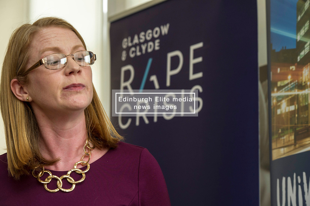 Pictured: Shirley-Anne Sommerville<br /> New practical guidance for universities to tackle gender-based violence on campus was launched today (Wednesday 25 April) by Further and Higher Education Minister, Shirley-Anne Somerville,  .<br /> <br /> Guidance and training for staff, better data collection and well-publicised support information for students are some of the recommendations set out in the toolkit, which has been produced by the University of Strathclyde and funded by the Scottish Government.<br /> <br /> The toolkit, which will be adapted for colleges, takes forward the principles set out in the #emilytest campaign set up by Fiona Drouet, in memory of her daughter Emily.<br /> <br /> The Minister visited Glasgow Rape Crisis Centre and heard about the work they do to support people affected by gender-based violence and their support in developing the toolkit. Ms Somerville met Fiona Drouet and other organisations involved in the development of the toolkit to discuss the #emilytest campaign and on-going work to support students affected by gender-based violence.<br /> <br /> Ger Harley | EEm 25 April 2018
