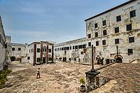 Courtyard, Elmina Castle
