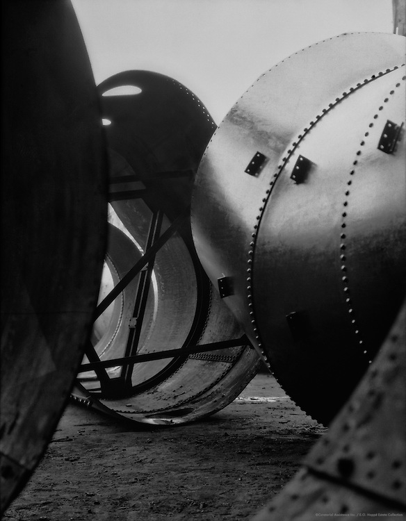 Construction of Blast Furnace Pipes, C.H. Jucho Steel Construction, Dortmund, 1928