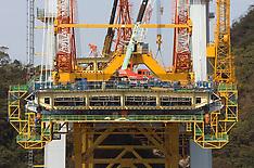 Megami Bridge Construction, Japan, 2004