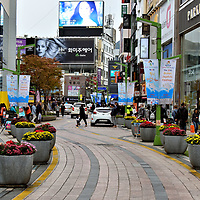 Gwangbok-dong Fashion Street in Busan, South Korea<br />