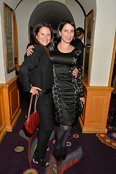 Left to right, FRAN CUTLER and SADIE FROST at a dinner to celebrate the launch of Genetic - Liberty Ross hosted by Liberty Ross and Ali Fatourechi at Annabel's, 44 Berkeley Square, London on 3rd September 2014.