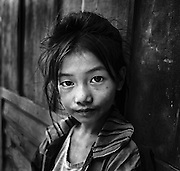 Khamu girl, Laos.