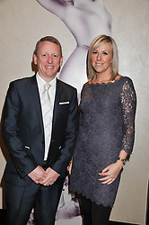 SIMON COMINS Superdrug Director of Toiletries and SARA WOLVERSON Beauty Director at Superdrug at the Cosmetic Executive Women (CEW) UK Beauty Awards 2012 held at the Intercontinental Hotel, Hamilton Place, London on 27th March 2012.