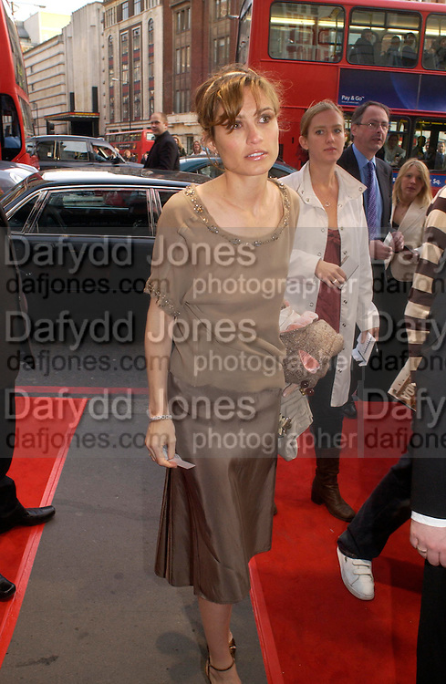 SHEHERAZADE GOLDSMITH. Billy Elliot- The Musical opening night at the Victoria palace theatre and party afterwards at Pacha, London. 12 May 2005. ONE TIME USE ONLY - DO NOT ARCHIVE  © Copyright Photograph by Dafydd Jones 66 Stockwell Park Rd. London SW9 0DA Tel 020 7733 0108 www.dafjones.com