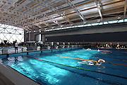 General View, New Zealand Short Course Swimming Championships, Sir Owen G. Glenn National Aquatic Centre, AUT Millennium, Auckland. 11 August 2015. Copyright Photo: William Booth / www.photosport.nz
