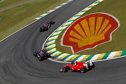 Motorsports / Formula 1: World Championship 2010, GP of Brazil, 17 Jaime Alguersuari (ESP, Scuderia Toro Rosso), 16 Sebastien Buemi (SUI, Scuderia Toro Rosso),   07 Felipe Massa (BRA, Scuderia Ferrari Marlboro),