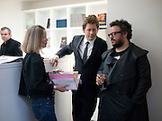 SHEENA WAGSTAFF; ROGER TATLEY;HALUK AKAKCE;  , Haluk Akakce; Coming Home. Exhibition of work at the Alison Jacques Gallery. 29 April 2010. *** Local Caption *** -DO NOT ARCHIVE-© Copyright Photograph by Dafydd Jones. 248 Clapham Rd. London SW9 0PZ. Tel 0207 820 0771. www.dafjones.com.<br /> SHEENA WAGSTAFF; ROGER TATLEY;HALUK AKAKCE;  , Haluk Akakce; Coming Home. Exhibition of work at the Alison Jacques Gallery. 29 April 2010.