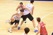 Sassari 20 Agosto 2012 - Qualificazioni Eurobasket 2013 - Allenamento<br /> Nella Foto : MASSIMO CHESSA<br /> Foto Ciamillo/Castoria