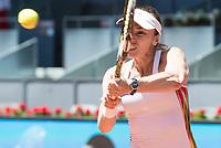 Swiss Martina Hingis during Mutua Madrid Open Sub16 Tennis 2017 at Caja Magica in Madrid, May 13, 2017. Spain.<br /> (ALTERPHOTOS/BorjaB.Hojas)